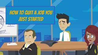 How to Quit a Job You Just Started  💭 Signs to Change Jobs & Tips to Transition
