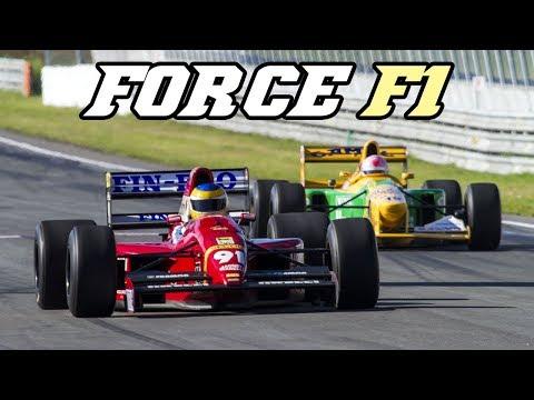 Force F1 demo Zandvoort 2017 (Arrows, Dallara, Lotus, Footwork, Benetton, )