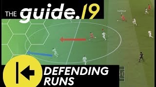 HOW TO DEFEND ATTACKING RUNS AND THROUGH PASSES   Early Player Switches   FIFA 19 DEFENSE TUTORIAL
