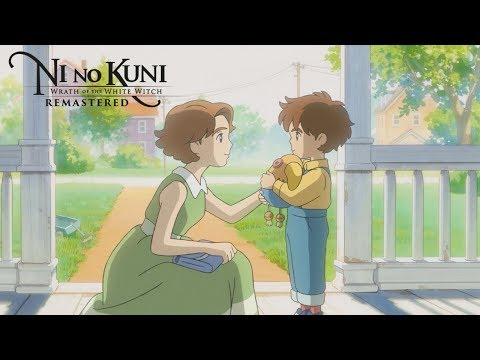 Ni no Kuni: Wrath of the White Witch Remastered - Launch Trailer - SWITCH/PS4/PC