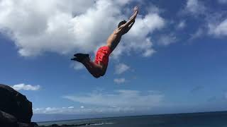 Cliff Jumping is Da Kine!