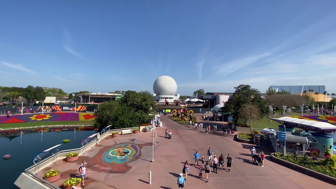 EPCOT Future World demolition/construction March 2020