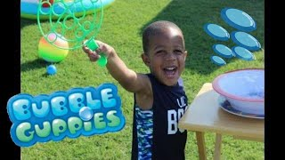 My Sons 3rd Birthday Party (Bubble Guppies Theme) 🐟🎈