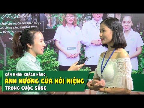 Cảm nhận của chị Trịnh Thị Chung về ảnh hưởng của Hôi miệng trong cuộc sống