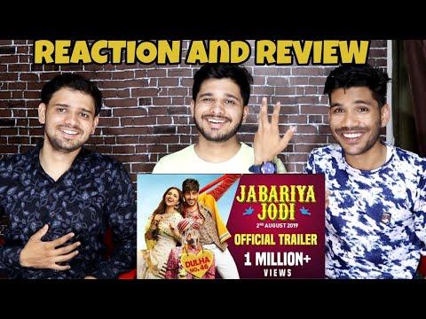 Jabariya Jodi – Official Trailer  Reaction And Review| Sidharth Malhotra, Parineeti Chopra