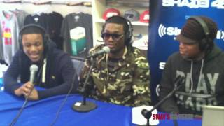 "Meek Mill and Lil Snupe Freestyle over Drake's ""Started From the Bottom"" on Sway in the Morning"
