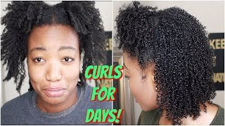 Best Method To Define & Make Your Type 4 Curls & Coils Last!