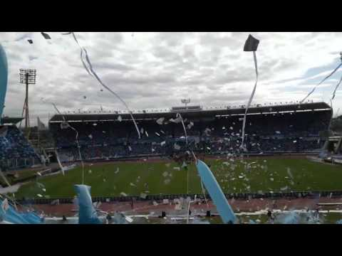 """""""Recibimiento  a BELGRANO  vs clásico  rival"""" Barra: Los Piratas Celestes de Alberdi • Club: Belgrano"""