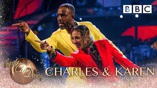 Charles Venn and Karen Clifton dance to