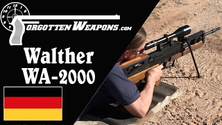 Walther WA2000: The Ultimate German Sniper Rifle