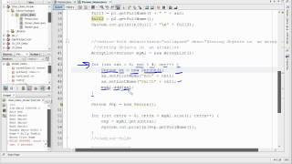Java - Storing  Objects In An Arraylist