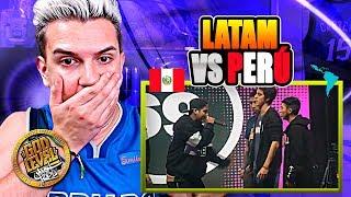 PERÚ Vs LATAM | BATALLA Por El 3 Y 4 PUESTO | REACCIÓN A GOD LEVEL CHILE 2019