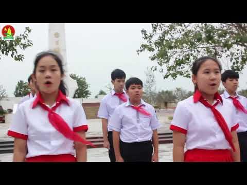 """MV dự thi hát Quốc ca """" Em yêu Tổ Quốc Việt Nam"""" của Liên đội trường THCS số 1 Nam Lý - Đồng Hới"""