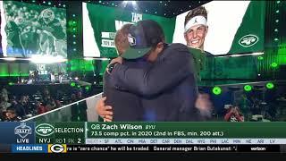 Jets Select Zach Wilson w/ #2 Pick | 2021 NFL Draft