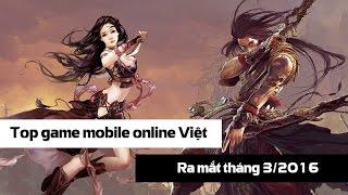 Tổng hợp gMO ra mắt làng game Việt tháng 3/2016
