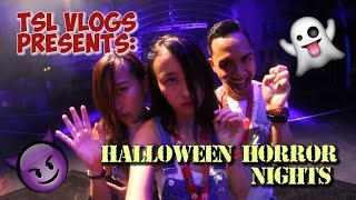 HALLOWEEN HORROR NIGHTS 2016 - FIRST LOOK! | TSL Vlogs | EP 16