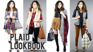 Preppy Plaid Lookbook + Black Friday Cyber Monday Tips and Advice 2015 | Miss Louie