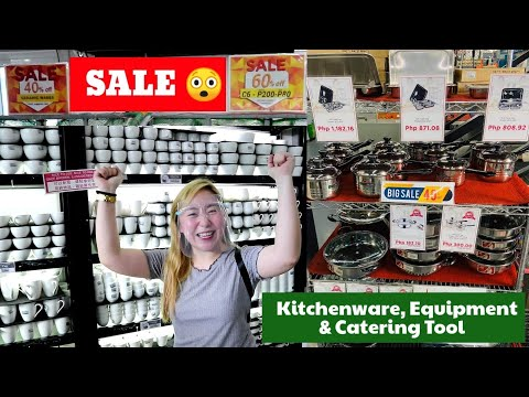 , title : 'SALE| Kitchen Equipment & Tools (Home and Business Use) IBCOM - Detailed Vlog with Mommy O