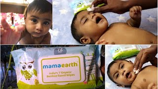 Mild Skin Care Routine For Babies | Mama Earth Baby Wipes | Organic & Safe To Use
