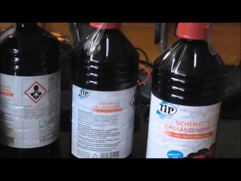 Petroleum Ersatz - Fl. Grillanzünder