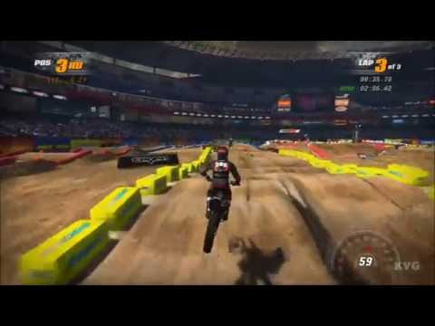 MX vs ATV Supercross Xbox 360