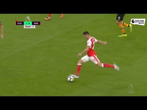 WATCH Xhaka nets screamer vs Hull City