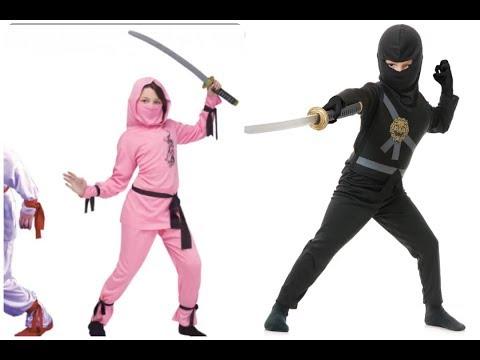 disfraces de ninjas para niños