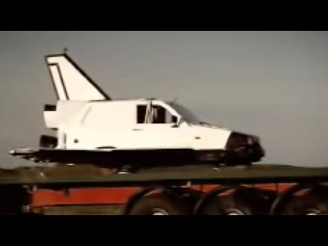 Top Gear - Reliant Robin czyli jak wysłać w kosmos trójkołowca