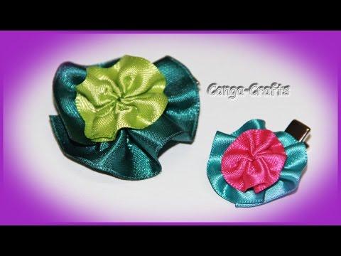 Blüten Clip / Blumen Ring / Spange / Giveaway / flower clip