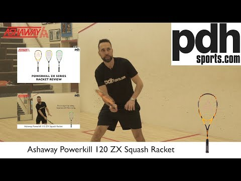 Ashaway Powerkill ZX Series squash racket reviews by PDHSports.com