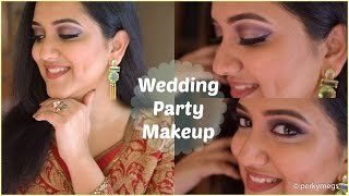 GRWM | Indian wedding guest makeup Tutorial | Perkymegs