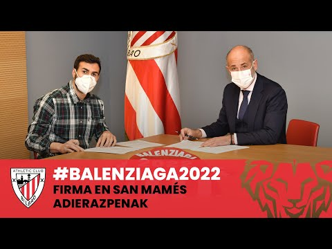 ✍️ Mikel Balenziaga – Signing and statements – #Balenziaga2022