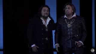 Ana María Martínez & Maestro Plácido Domingo in Don Carlo at the LA Opera
