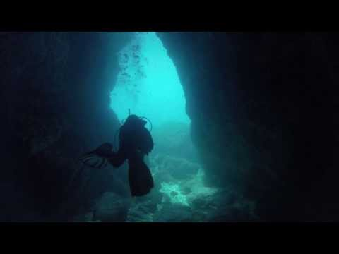 Diving Malta: Anchor Bay - Popeye and Scorpion Cave, Anchor Bay / Popeye´s Village,Malta