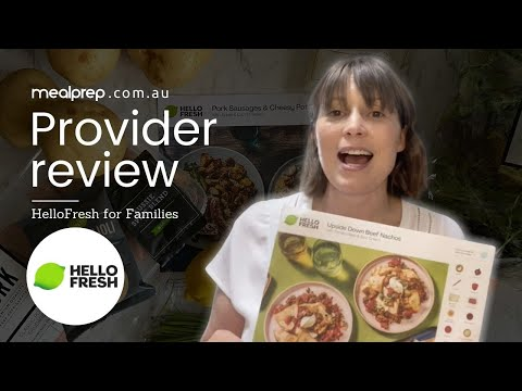 Nutritionist Review: HelloFresh For Families