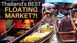 Thailand's Best FLOATING MARKET with Mark Wiens!