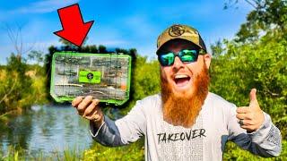 ULTIMATE Pond Fishing Tackle Box (Bank Fishing)