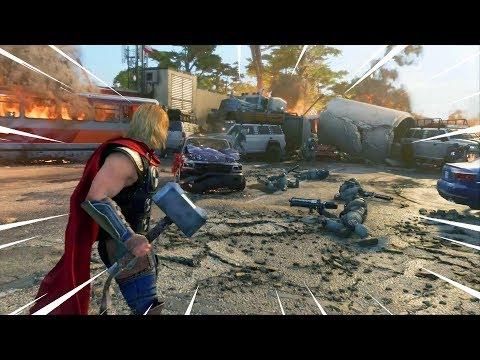 Marvel's Avengers: Early Gameplay [Full Mission]