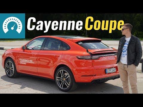Porsche Cayenne Coupe Кроссовер класса J - тест-драйв 1
