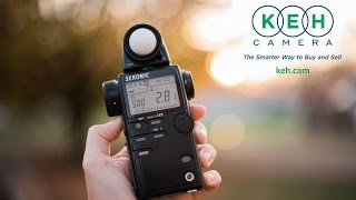 How To Use a Sekonic Light Meter