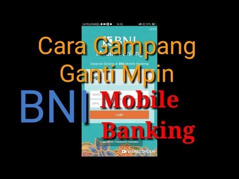 Tutorial Ganti Mpin Bni Mobile Banking