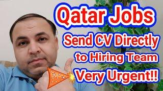 Qatar Jobs   Latest Jobs In Qatar   Send Email To Direct Hiring Team