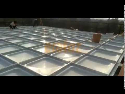 Fiberglass Panel Tank
