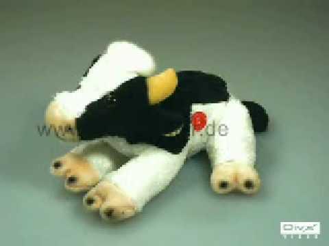 Plüschtier Kuh mit Stimme 1558