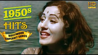 1950's Super Hit Suhaane Bollywood Songs - Top Vintage Video Songs