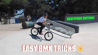Easy Bmx Tricks For Intermediate Level Riders - Skatepark Edition!
