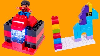 Bedtime Stories LEGO DUPLO Building Ideas for Children and Parents! Easy DIY Activity Instructions