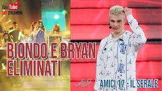 Amici 17 - Il serale: Biondo e Bryan eliminati - Video Youtube