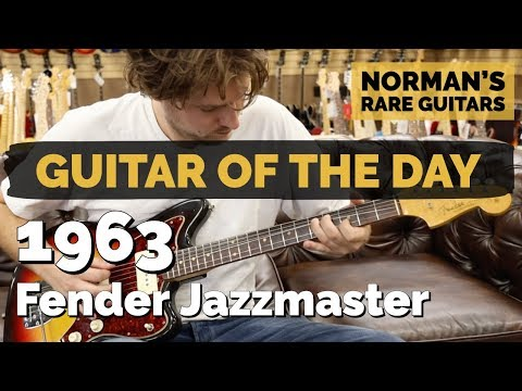 Guitar of the Day: 1963 Fender Jazzmaster | Norman's Rare Guitars