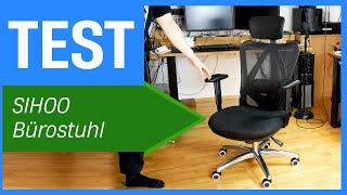SIHOO ergonomischer Bürostuhl mit Lordosestütze im Test